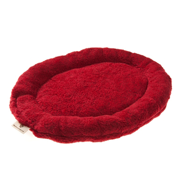Nature Nap Oval Pet Bed - Brick Red