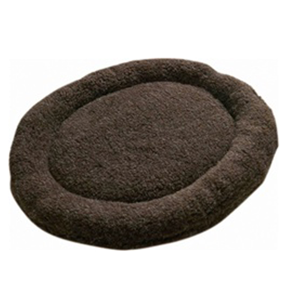 Nature Nap Oval Pet Bed - Chocolate