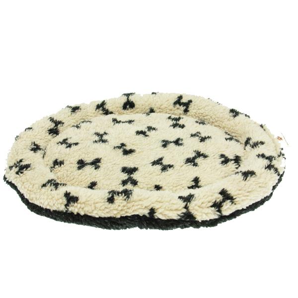 Nature Nap Oval Pet Bed - Oatmeal Bone