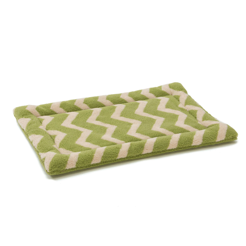 Nature Nap Pet Bed -  Moss Chevron