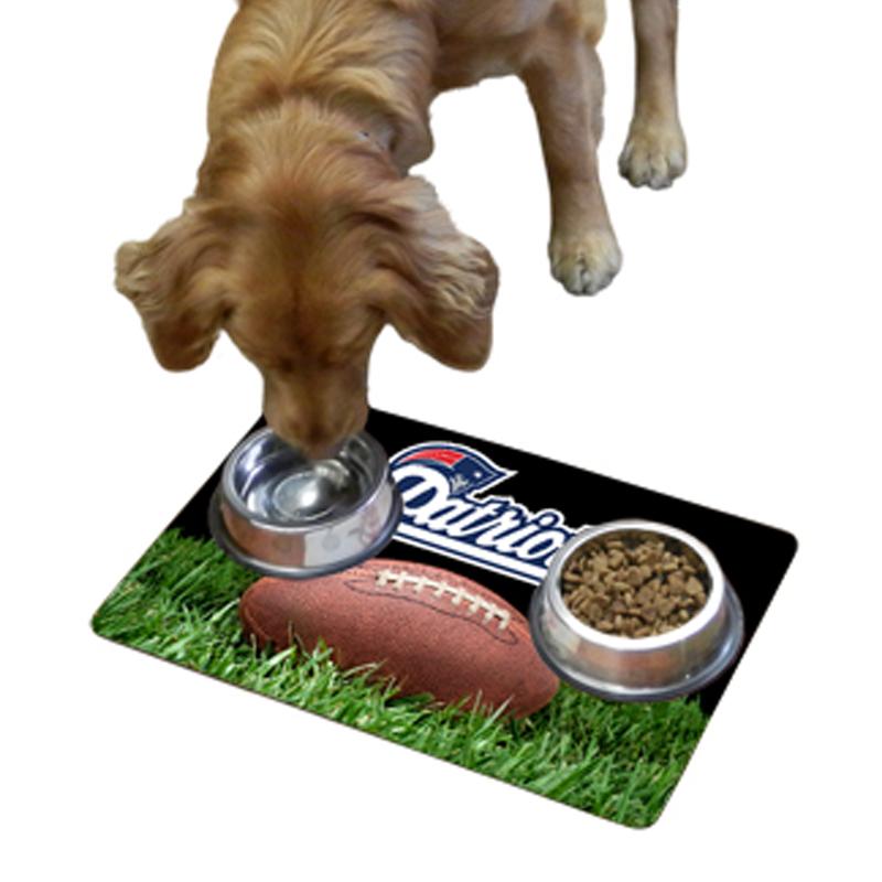 New England Patriots Pet Bowl Mat