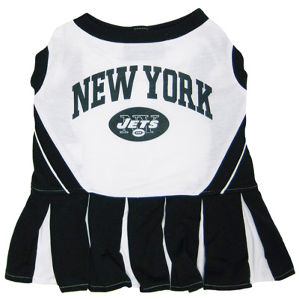 New York Jets Cheerleader Dog Dress