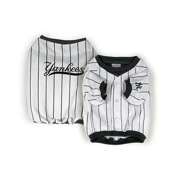 New York Yankees Deluxe White Dog Jersey