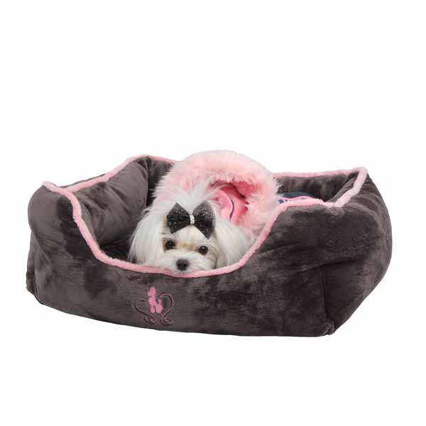 Nursing Dog Bed by Pinkaholic  - Gray