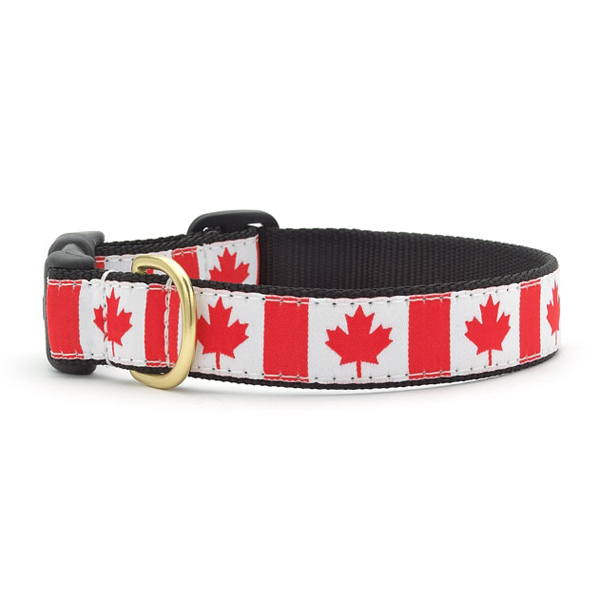 Oh Canada Dog Collar by Up Country