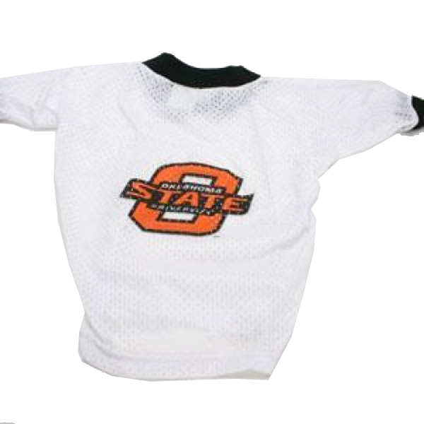 Oklahoma State Cowboys Dog Jersey - White