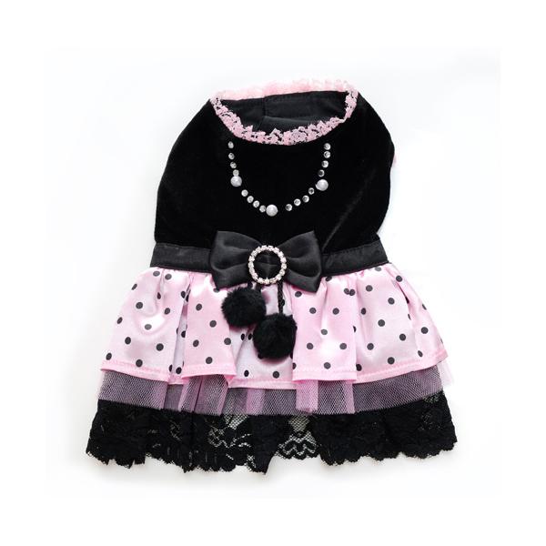 Olivia Polka Dot Party Dog Dress