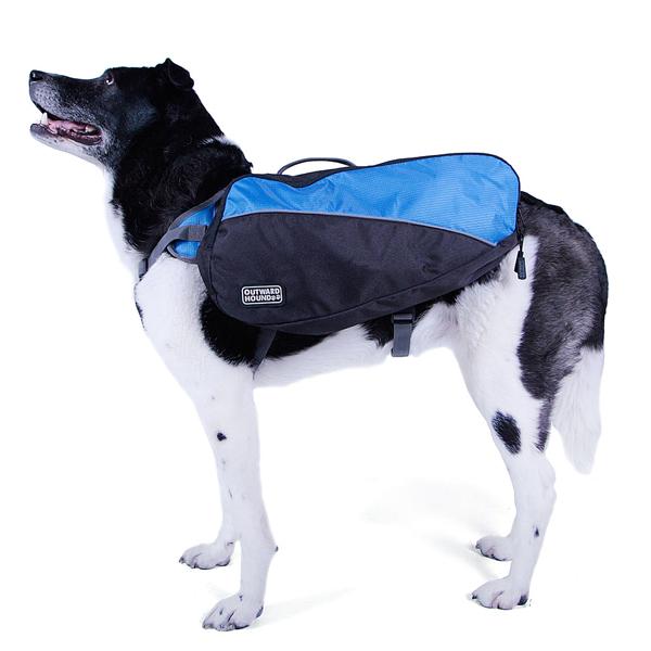 Outward Hound Dog Backpack - Blue