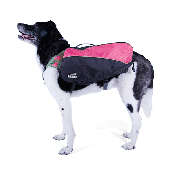 Outward Hound Dog Backpack - Pink