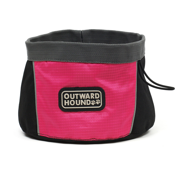 Outward Hound Port A Bowl - Pink