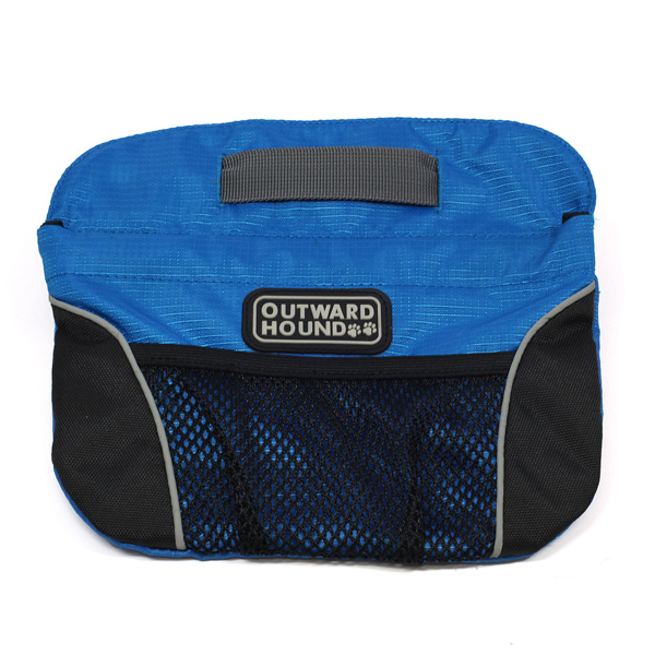 Outward Hound Quick Access Dog Treat Bag - Blue