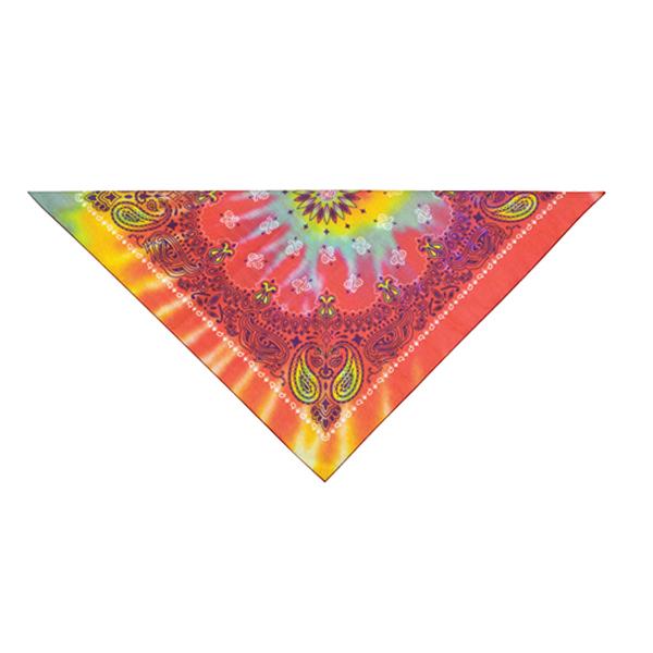 Paisley Tie-Dye Dog Bandana