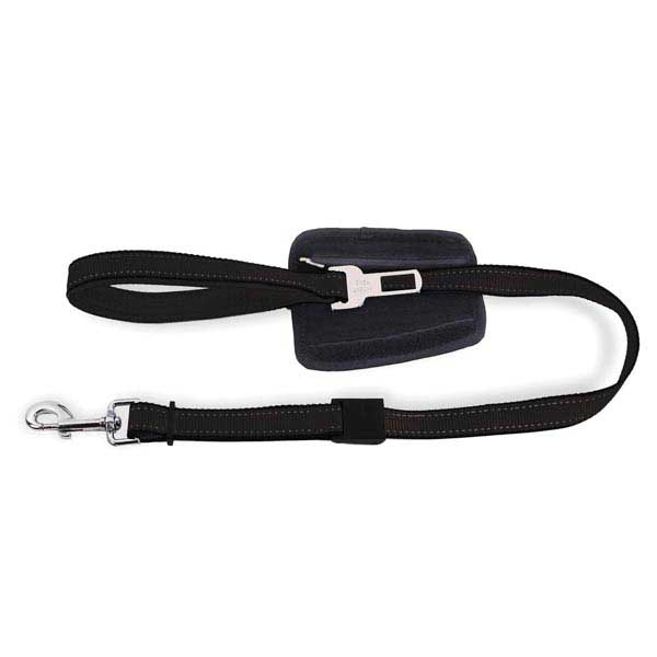 PatentoPet City Dog Leash with Car Adapter - Short Black