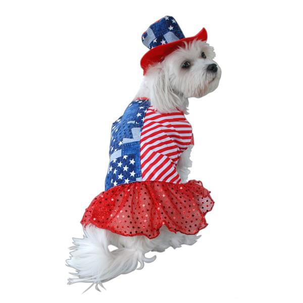 Patriotic Dog Dress