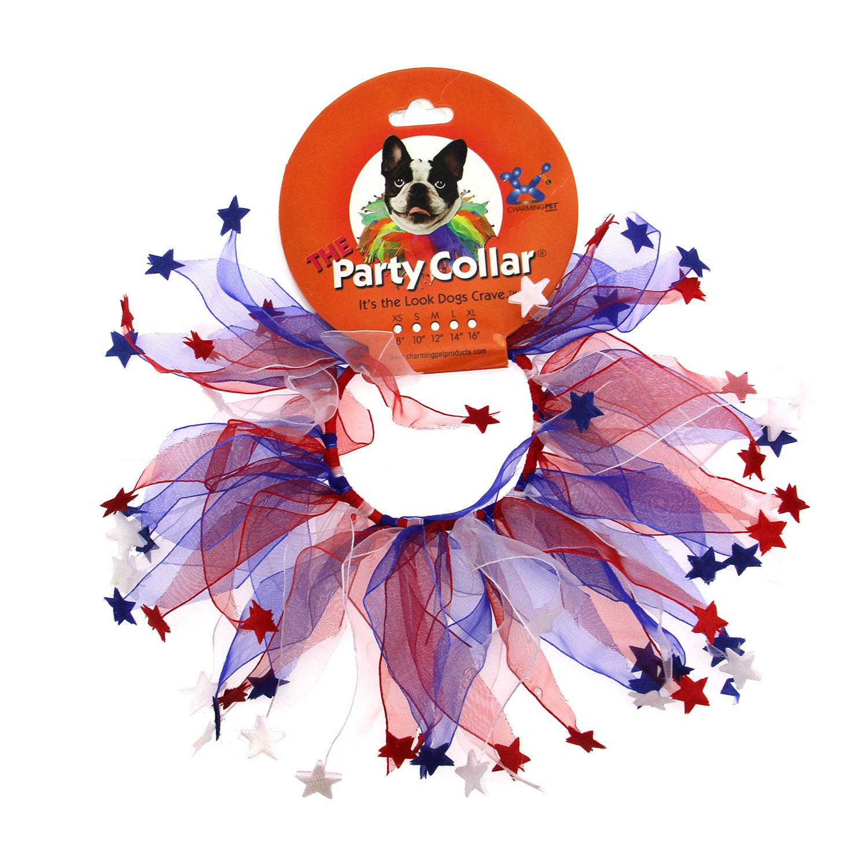 Patriotic Dog Neck Scrunchy