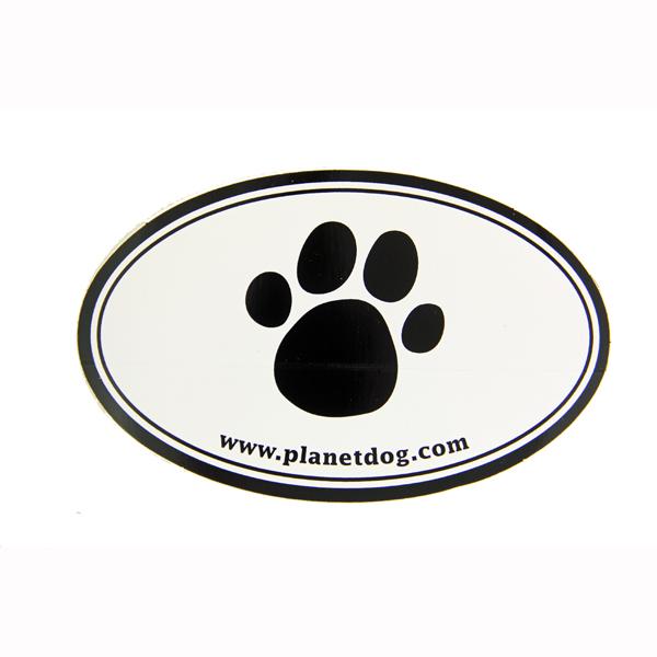 Paw Print Euro Sticker by Planet Dog