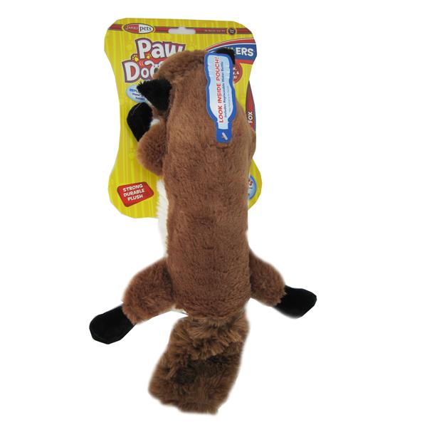 Pawdoodles Krinklers Dog Toy - Fox