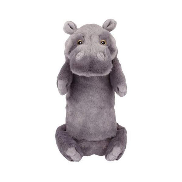 Pawdoodles Mega Krinklers Dog Toy - Hippo