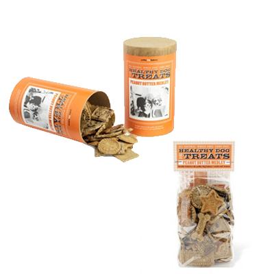Peanut Butter Medley Dog Treats by Polka Dog Bakery