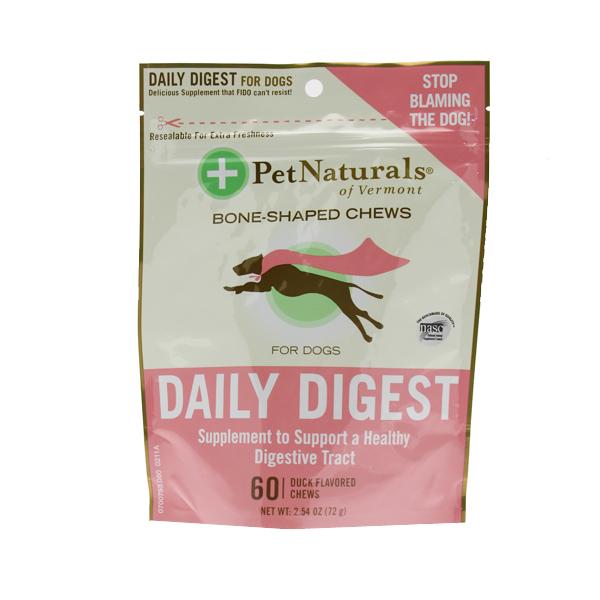 Pet Naturals Daily Digest Dog Supplement