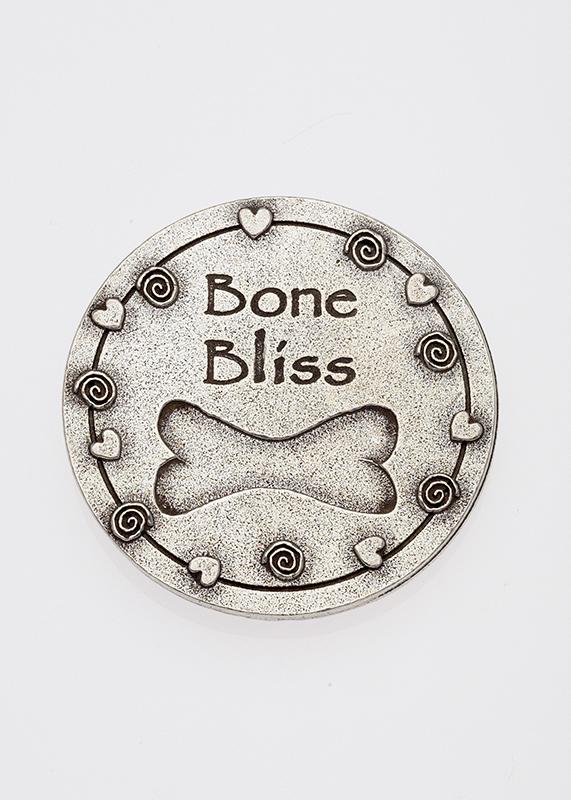 Pewter Magnet Bone Bliss