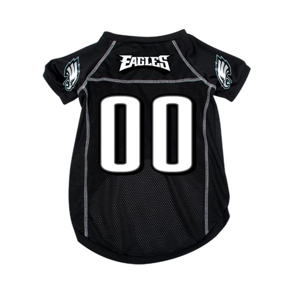 Philadelphia Eagles Dog Jersey - Black