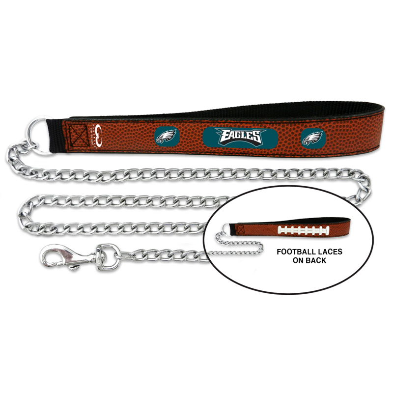 Philadelphia Eagles Leather Dog Leash