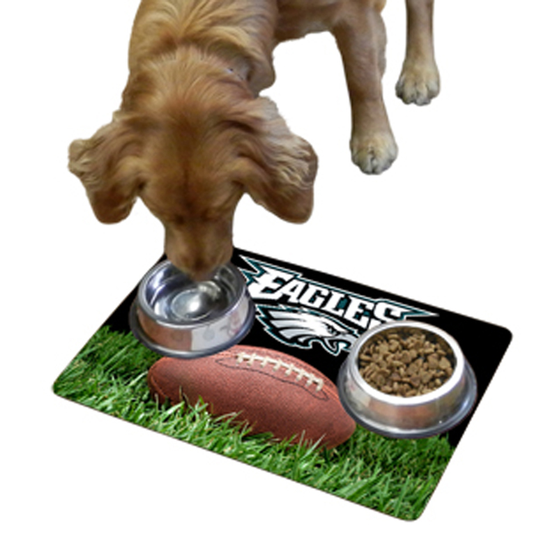Philadelphia Eagles Pet Bowl Mat