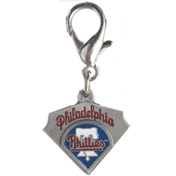 Philadelphia Phillies Pennant Dog Collar Charm