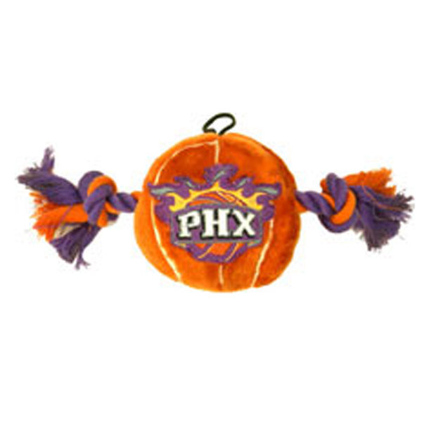 Phoenix Suns Basketball Dog Toy