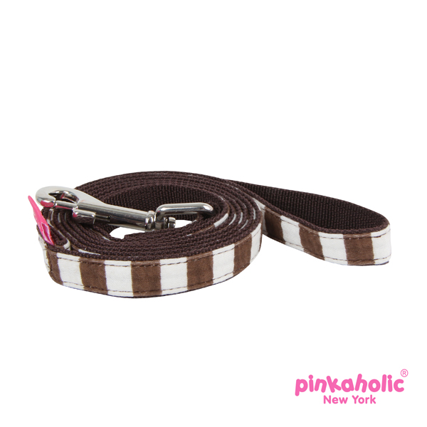 Picnic Dog Leash by Pinkaholic - Brown