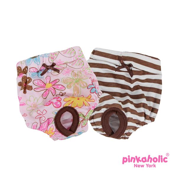 Picnic Dog Sanitary Panty by Pinkaholic - Brown