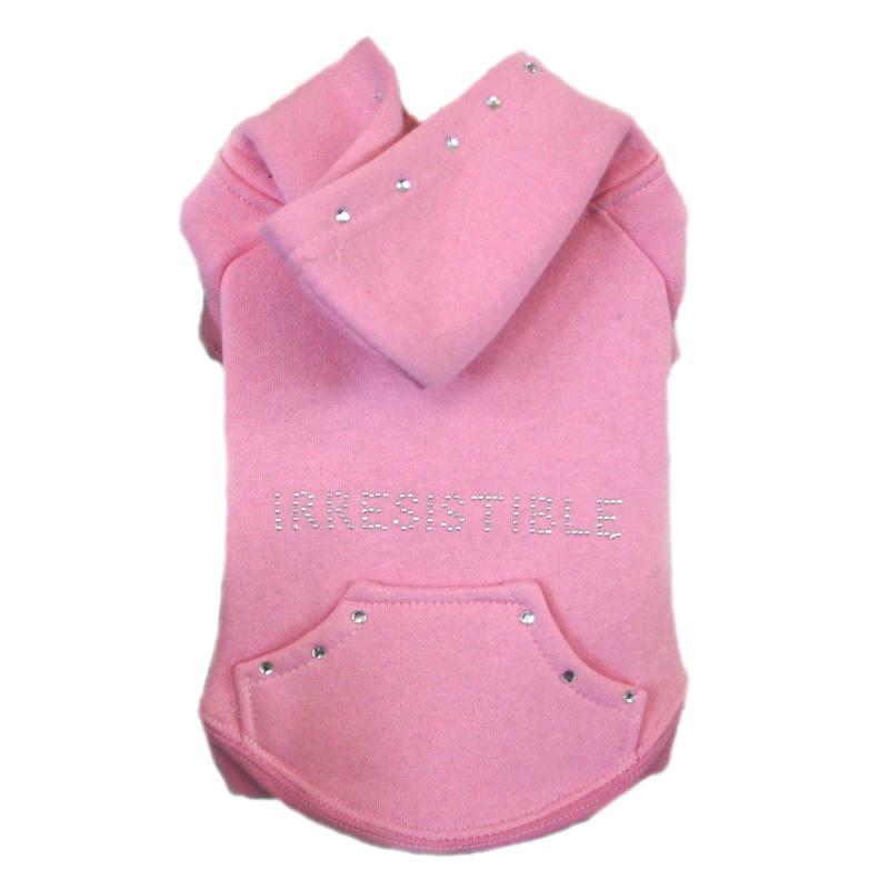 Pink Irresistible Dog Hoodie