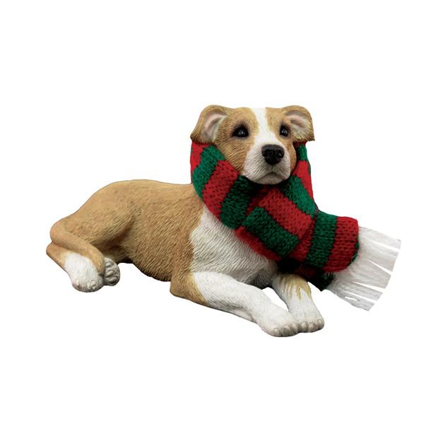 Pit Bull Terrier Christmas Ornament