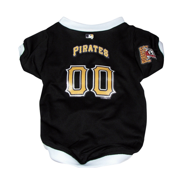 Pittsburgh Pirates Baseball Dog Jersey