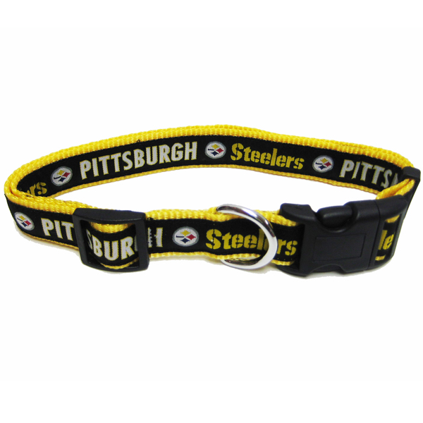 Pittsburgh Steelers Officially Licensed Dog Collar