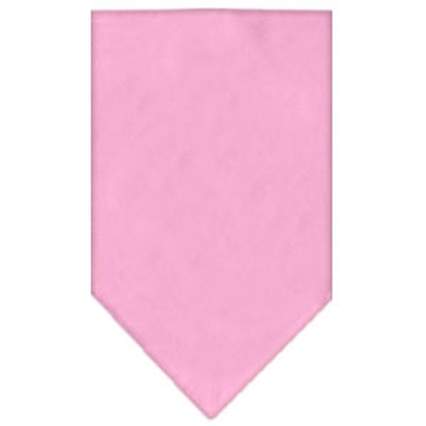 Plain Dog Bandana - Light Pink