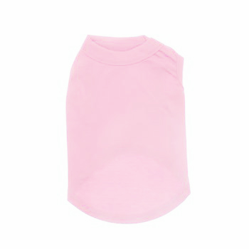 Plain Dog Shirt - Light Pink