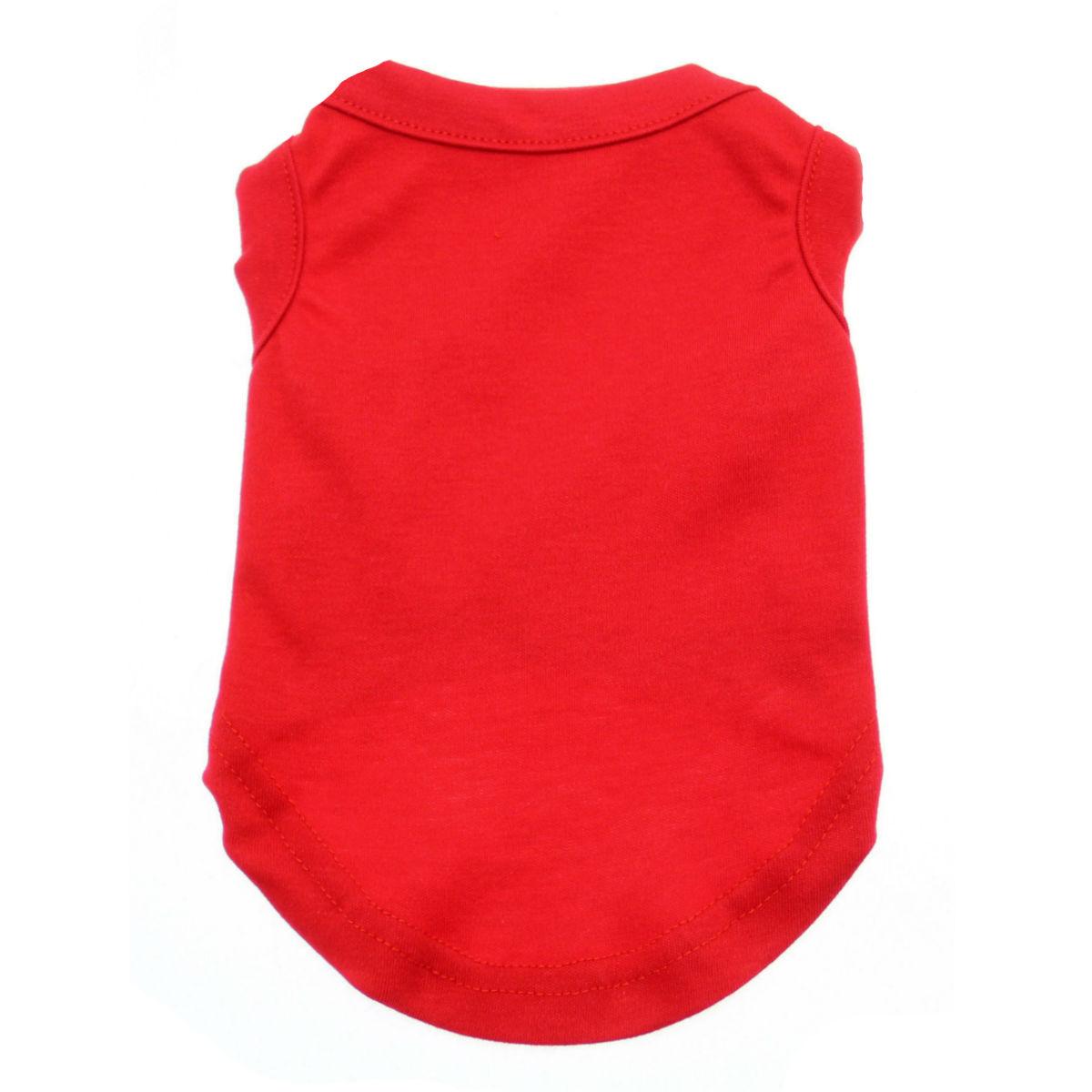 Plain Dog Shirt - Red