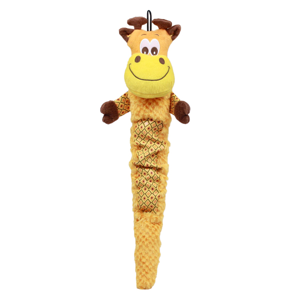 Plush Puppies Shakeables Dog Toy - Giraffe