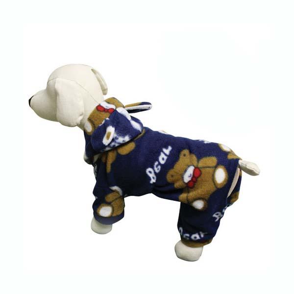 Plush Teddy Bear Fleece Dog Pajamas by Klippo