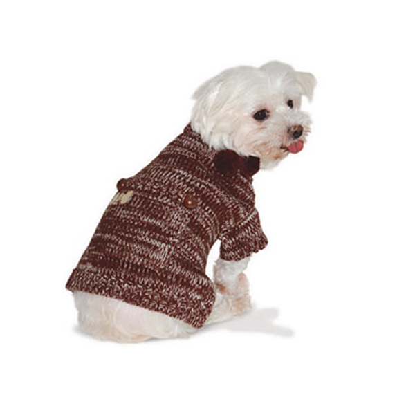 Pocket Sweater by Dogo - Chocolate