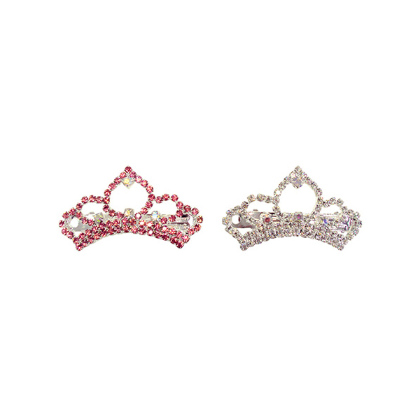 Princess Tiara Dog Barrette