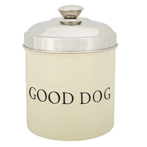 ProSelect 'Good Dog' Treat Canister - Ivory