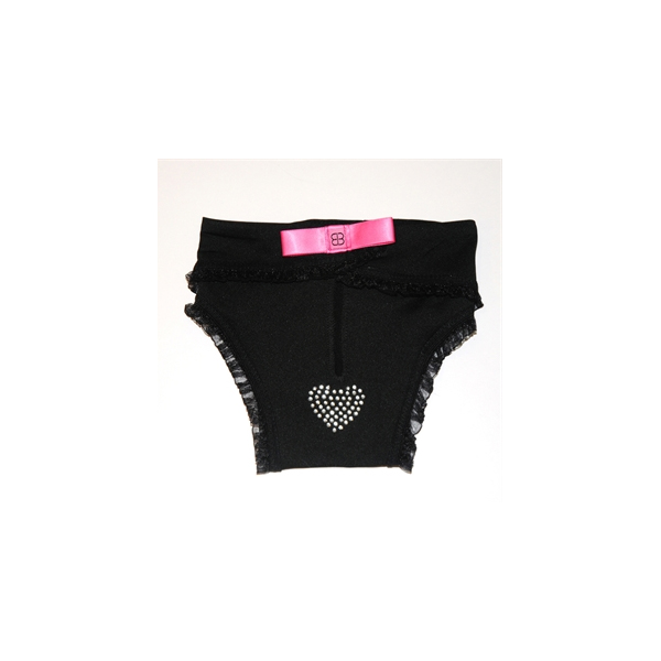Protective Hot Pants for Dogs - Black