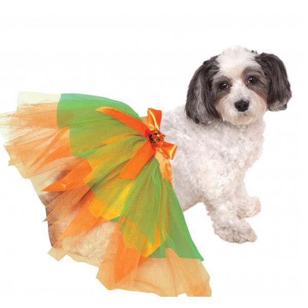 Pumpkin Dog Tutu