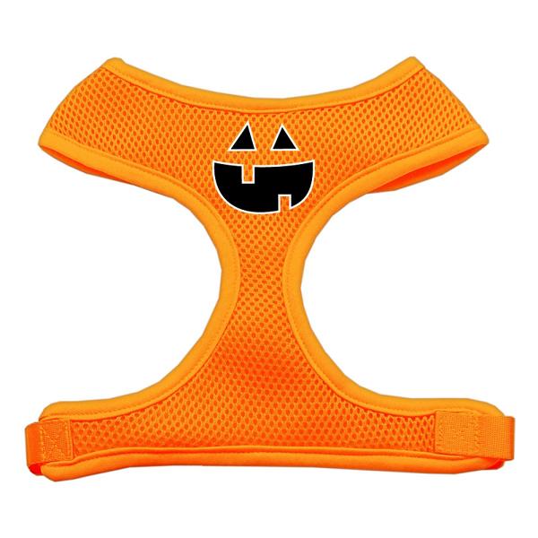 Pumpkin Halloween Dog Harness - Orange