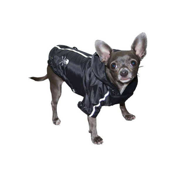 Pupagonia Skull Dog Parka - Black