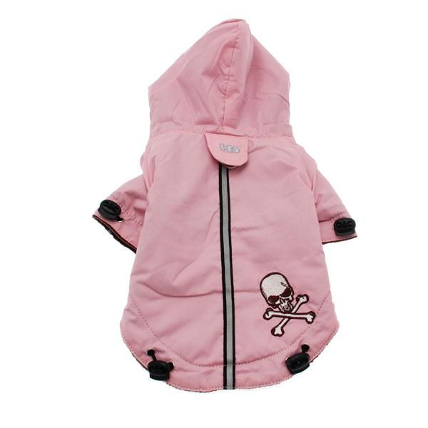 Pupagonia Skull Dog Parka - Pink