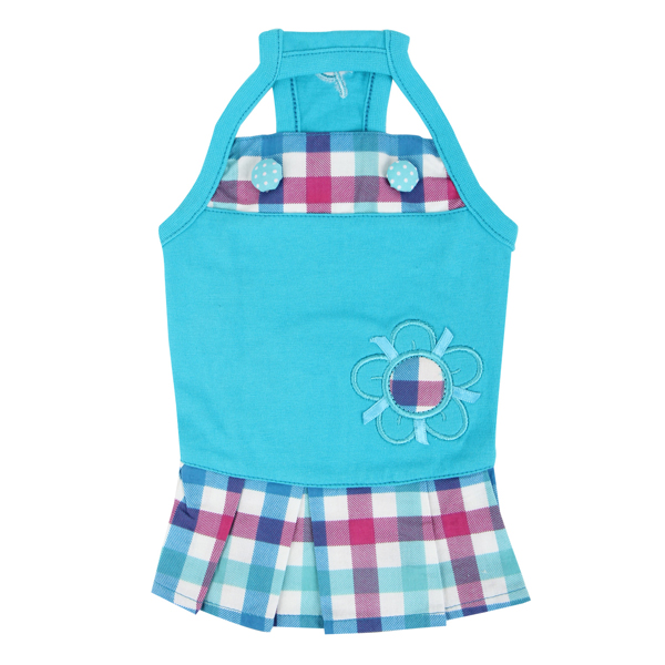 Purity Dog Dress by Puppia - Aqua
